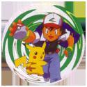 Pokémon (Ash & Pikachu back) Back-Green.
