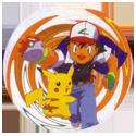 Pokémon (Ash & Pikachu back) Back-Orange.