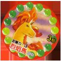 Pokémon (Pokeball back) 78-Rapidash.