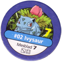 Pokémon Master Trainer 002-Ivysaur.