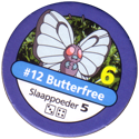 Pokémon Master Trainer 012-Butterfree.