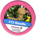 Pokémon Master Trainer 013-Weedle.