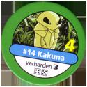 Pokémon Master Trainer 014-Kakuna.