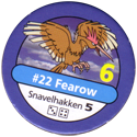 Pokémon Master Trainer 022-Fearow.