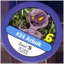 Pokémon Master Trainer 024-Arbok.