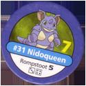 Pokémon Master Trainer 031-Nidoqueen.