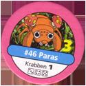 Pokémon Master Trainer 046-Paras.