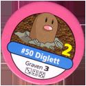 Pokémon Master Trainer 050-Diglett.