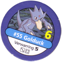 Pokémon Master Trainer 055-Golduck.