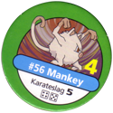 Pokémon Master Trainer 056-Mankey.
