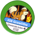 Pokémon Master Trainer 058-Growlithe.