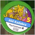 Pokémon Master Trainer 064-Kadabra.