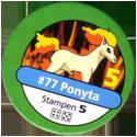 Pokémon Master Trainer 077-Ponyta.