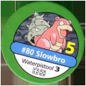 Pokémon Master Trainer 080-Slowbro.