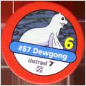 Pokémon Master Trainer 087-Dewgong.