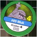 Pokémon Master Trainer 089-Muk.