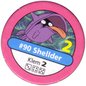 Pokémon Master Trainer 090-Shellder.