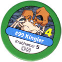 Pokémon Master Trainer 099-Kingler.
