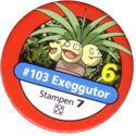 Pokémon Master Trainer 103-Exeggutor.