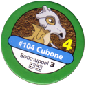 Pokémon Master Trainer 104-Cubone.