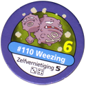 Pokémon Master Trainer 110-Weezing.