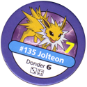 Pokémon Master Trainer 135-Jolteon.