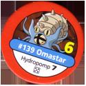 Pokémon Master Trainer 139-Omastar.