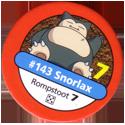 Pokémon Master Trainer 143-Snorlax.