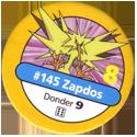 Pokémon Master Trainer 145-Zapdos.