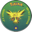 Pokémon (small) 145-Zapdos.