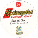 Redemption Collector Caps 026-Son-of-God-(back).