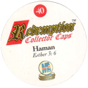 Redemption Collector Caps 040-Haman-(back).