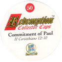 Redemption Collector Caps 050-Commitment-of-Paul-(back).