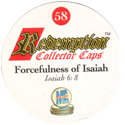 Redemption Collector Caps 058-Forcefulness-of-Isaiah-(back).