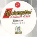 Redemption Collector Caps 073-Samson-(back).