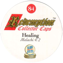 Redemption Collector Caps 084-Healing-(back).