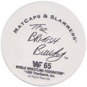 WWF Matcaps 65-The-British-Bulldog-(back).