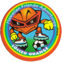 Slam Jack Caps > Série 3 15-Soccer-Orange.
