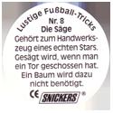 Snickers Lustige Fußball-tricks 08-Die-Säge-(back).