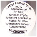 Snickers Lustige Fußball-tricks 10-Bogenlampe-(back).