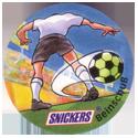 Snickers Lustige Fußball-tricks 11-Beinschuß.