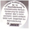 Snickers Lustige Fußball-tricks 14-Raumdeckung-(back).