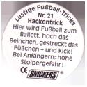 Snickers Lustige Fußball-tricks 21-Hackentrick-(back).