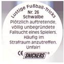 Snickers Lustige Fußball-tricks 26-Schwalbe-(back).