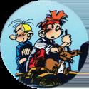 Caps > Spirou / Robbedoes 58-Fantasio,-Spirou-and-Spip-on-raft.