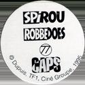 Caps > Spirou / Robbedoes Back.