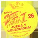 Vidal Golosinas > Street Fighter II Back.
