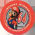 Taco Bell Nintendo 64 64-Mario-(Cinnamon-Twists).