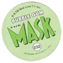 The Mask Bubble Gum Back.
