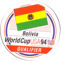 World Cup USA 94 Bolivia-Qualifier.